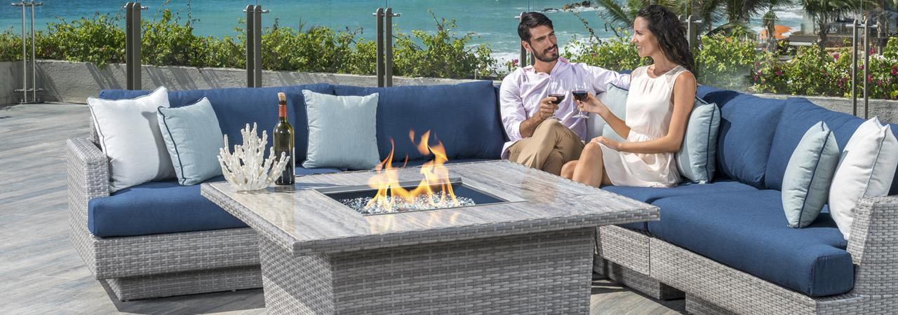 Admirable Portofino Comfort Outdoor Furniture Collection Rst Brands Beutiful Home Inspiration Ommitmahrainfo