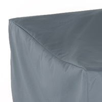 Outdoor covers are sewn with high-quality polyester fabric and coated in polyurethane to withstand the elements of all seasons.