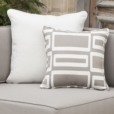 "Plush 4"" cushions are layered to allow moisture to completely drain. All-weather fabric is fade resistant to last for years."