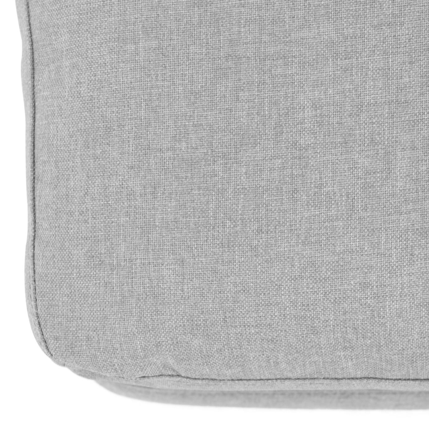 Aria Ottoman - Gray