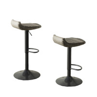 Cannes™ Woven Outdoor Barstool Set