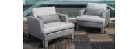 Portofino® Sling Club Chairs - Space Gray