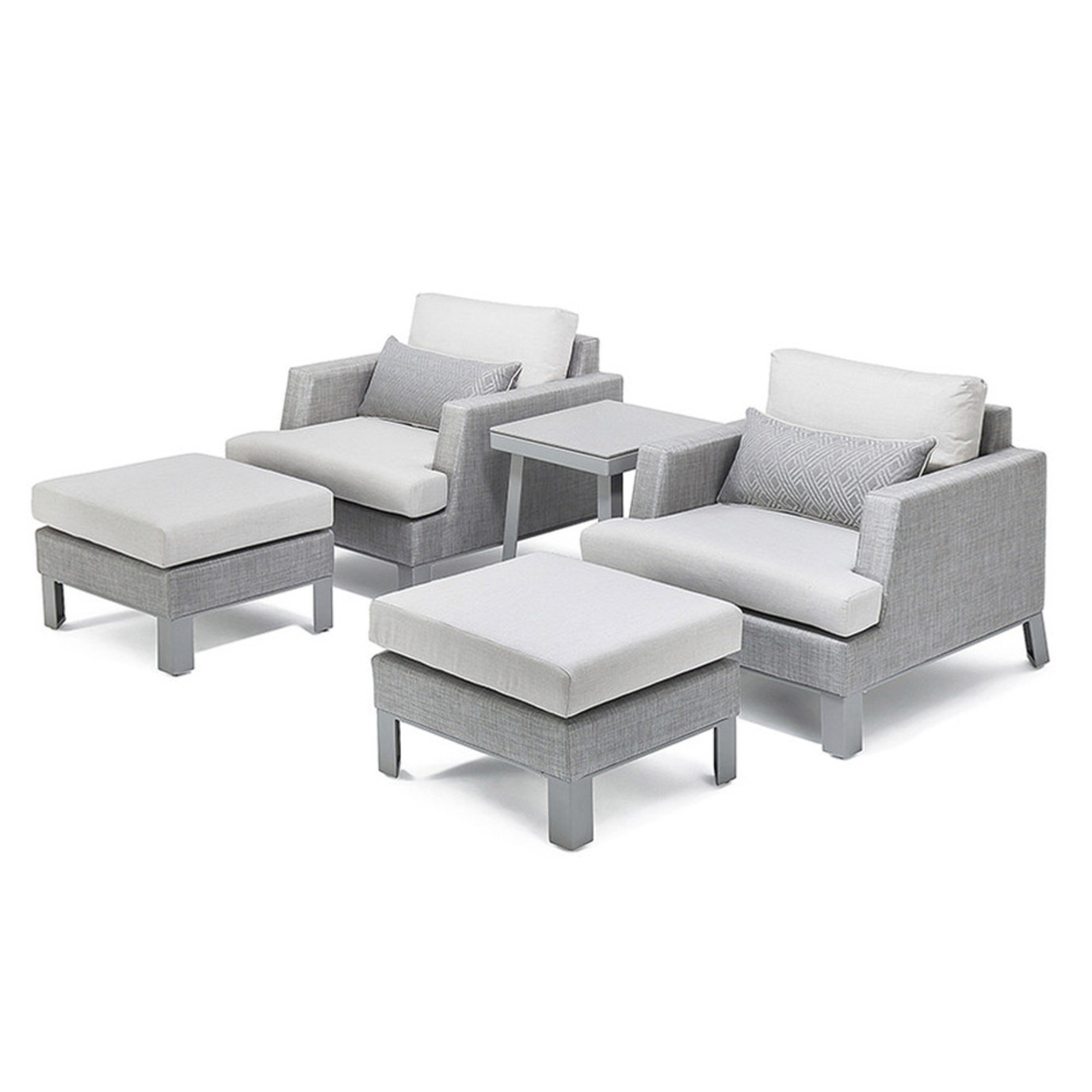 Portofino® Sling 5 Piece Club Chair Set