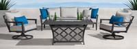 Venetia™ 4 Piece Motion Fire Seating Set