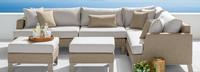Portofino® Sling 6 Piece Sectional - Beige Fennel