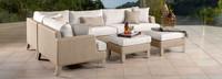 Portofino® Sling 6 Piece Sectional - Space Gray