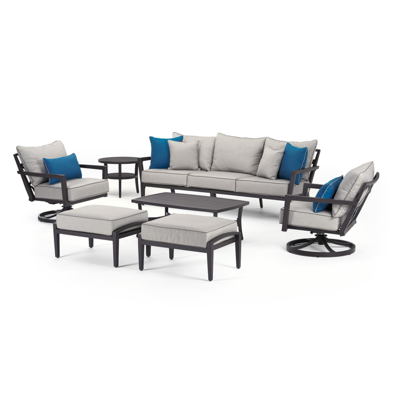 Venetia 7 Piece Motion Seating Set
