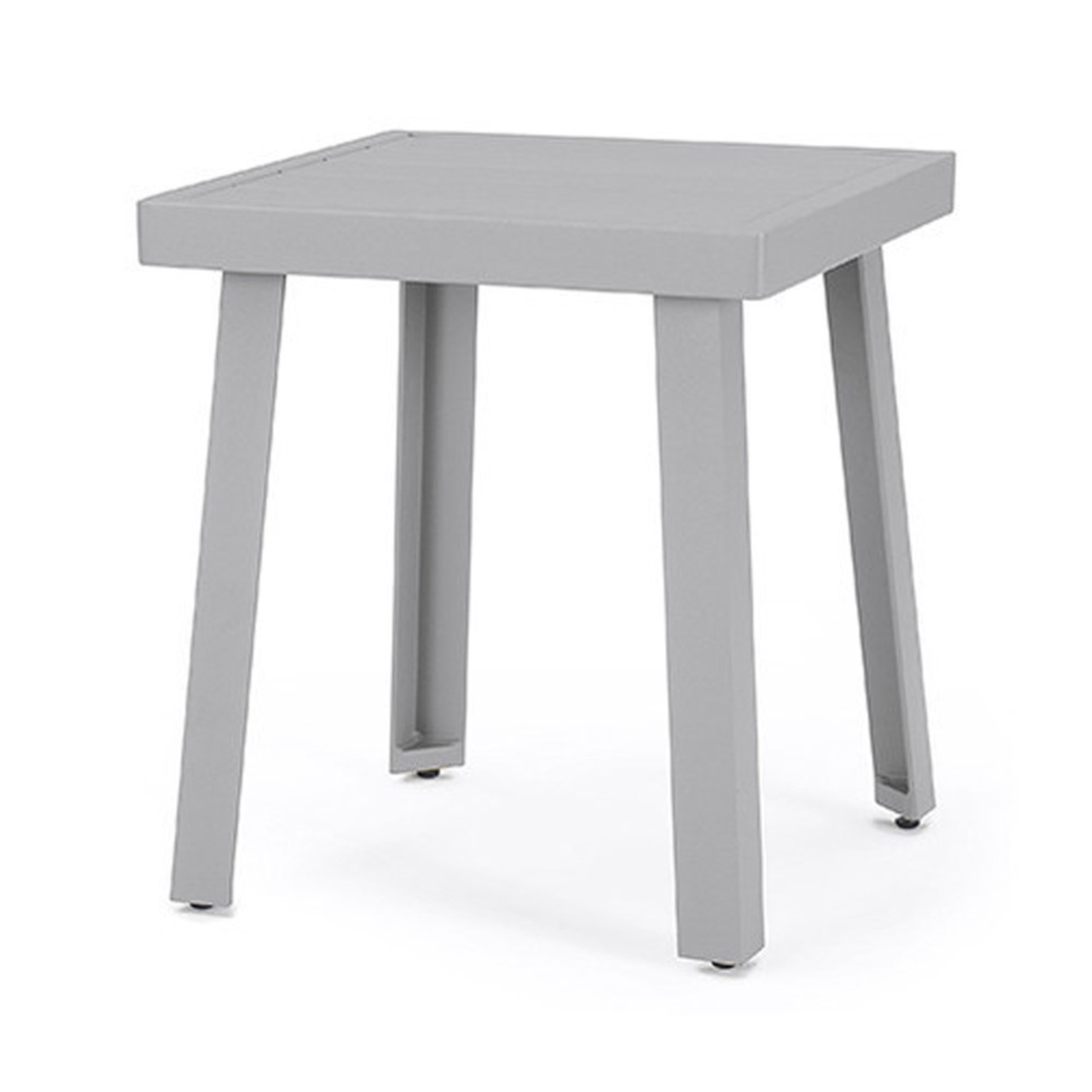 Portofino® Modern Sling 20x18 Aluminum Side Table