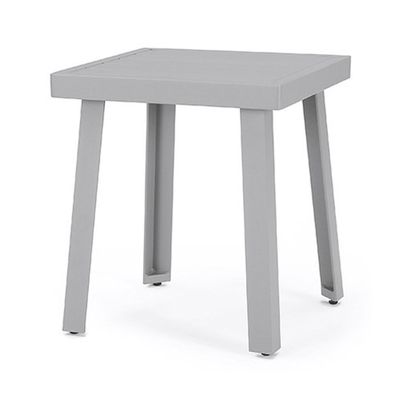 Portofino® Sling 20x20 Side Table - Gray