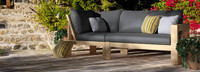 Benson™ Armless Chairs - Charcoal Gray