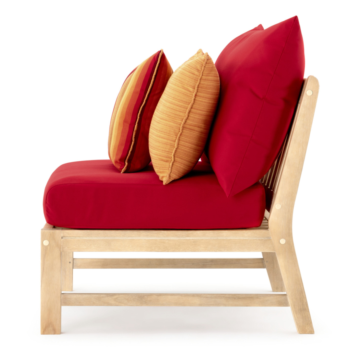 Kooper Armless Chairs - Sunset Red