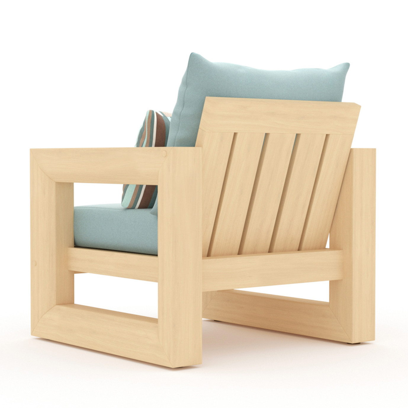 Benson Club Chairs - Bliss Blue