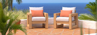 Benson™ Club Chairs - Cast Coral