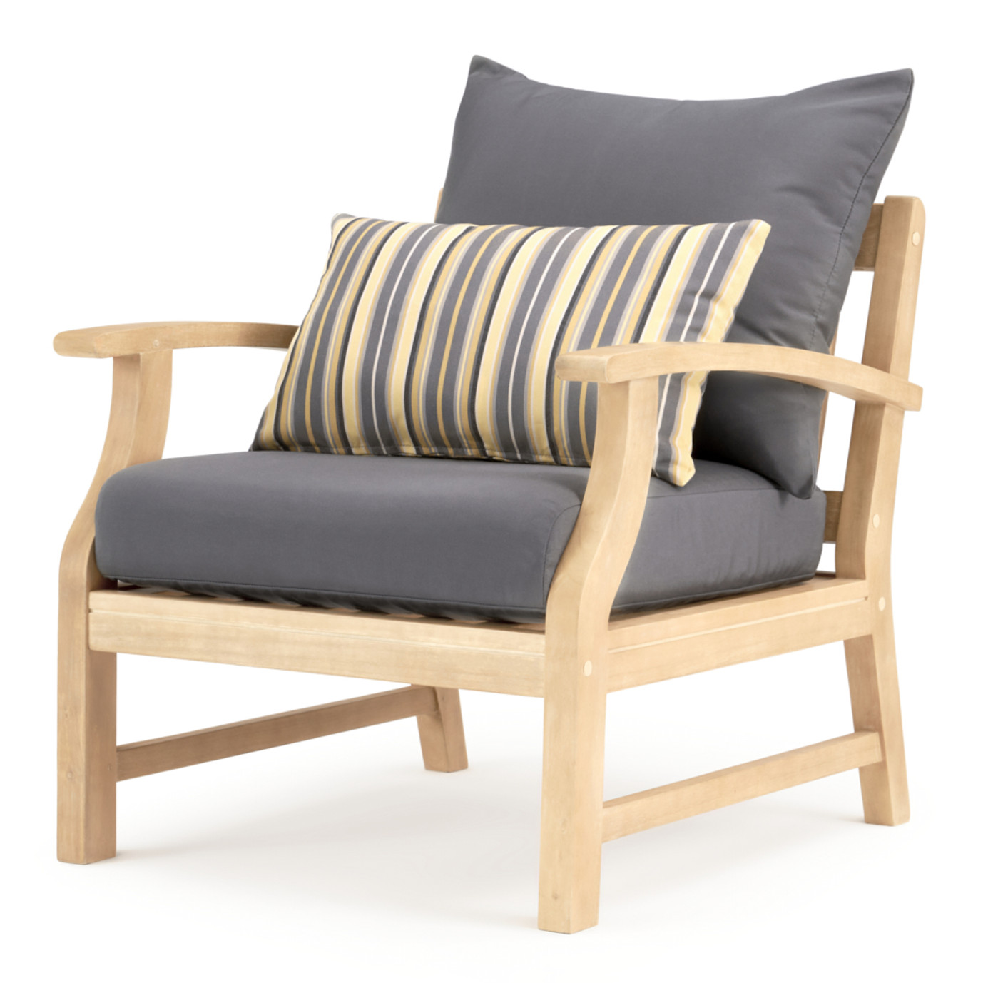 Kooper Club Chairs - Charcoal Gray