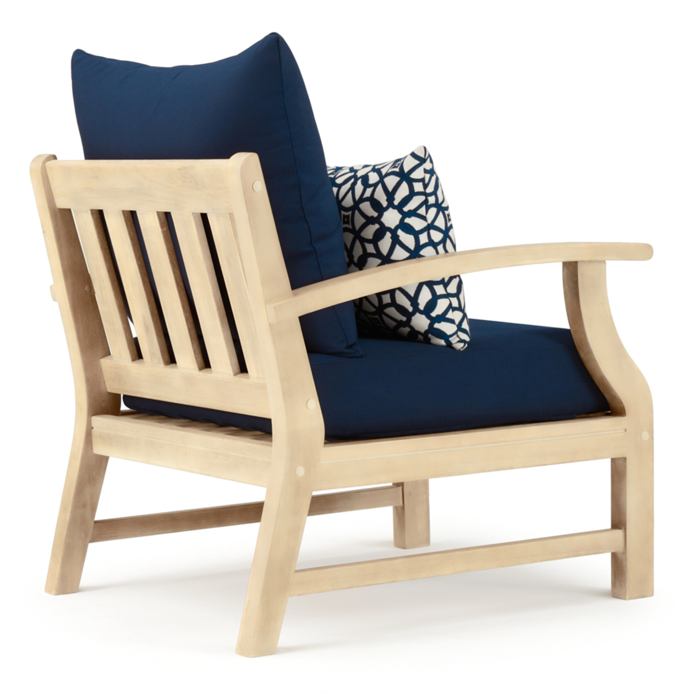Kooper Club Chairs - Navy Blue