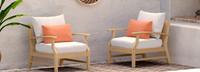 Kooper™ Club Chairs - Spa Blue