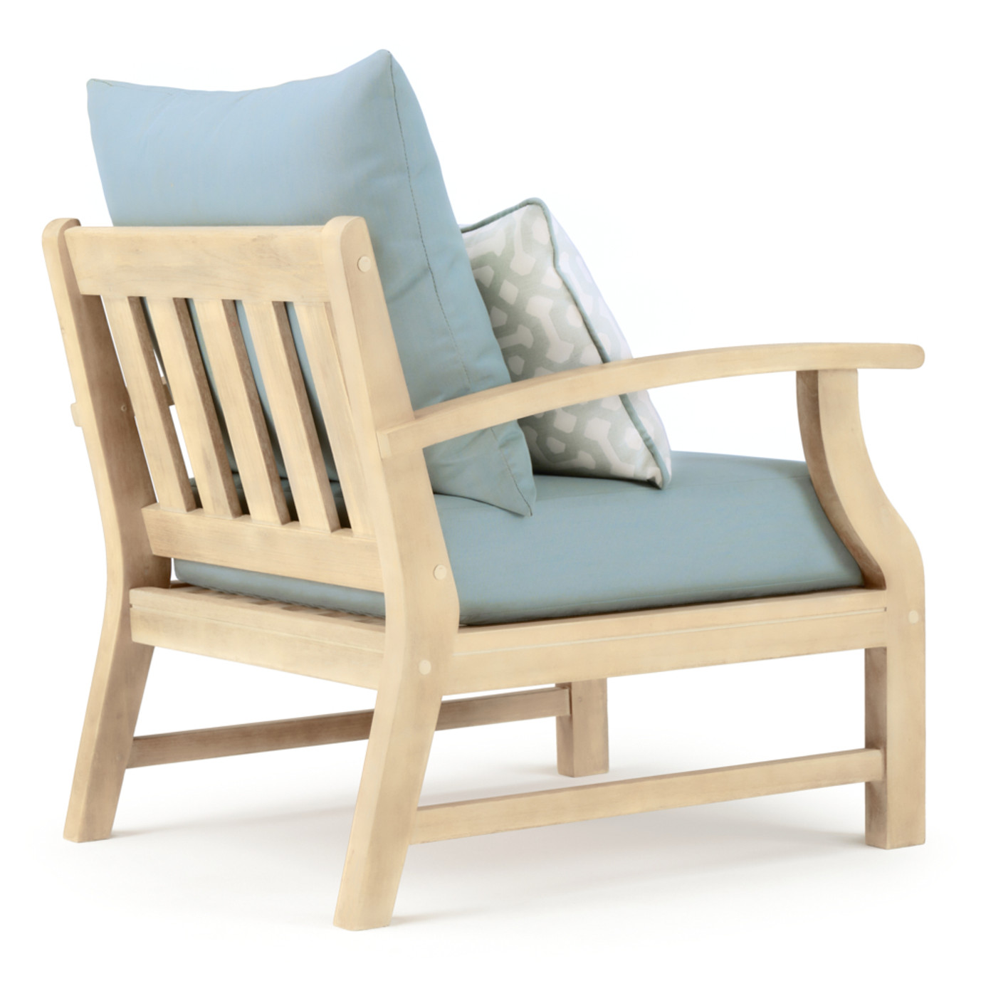 Kooper Club Chairs - Spa Blue