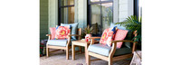 Kooper™ Club Chairs - Sunset Red