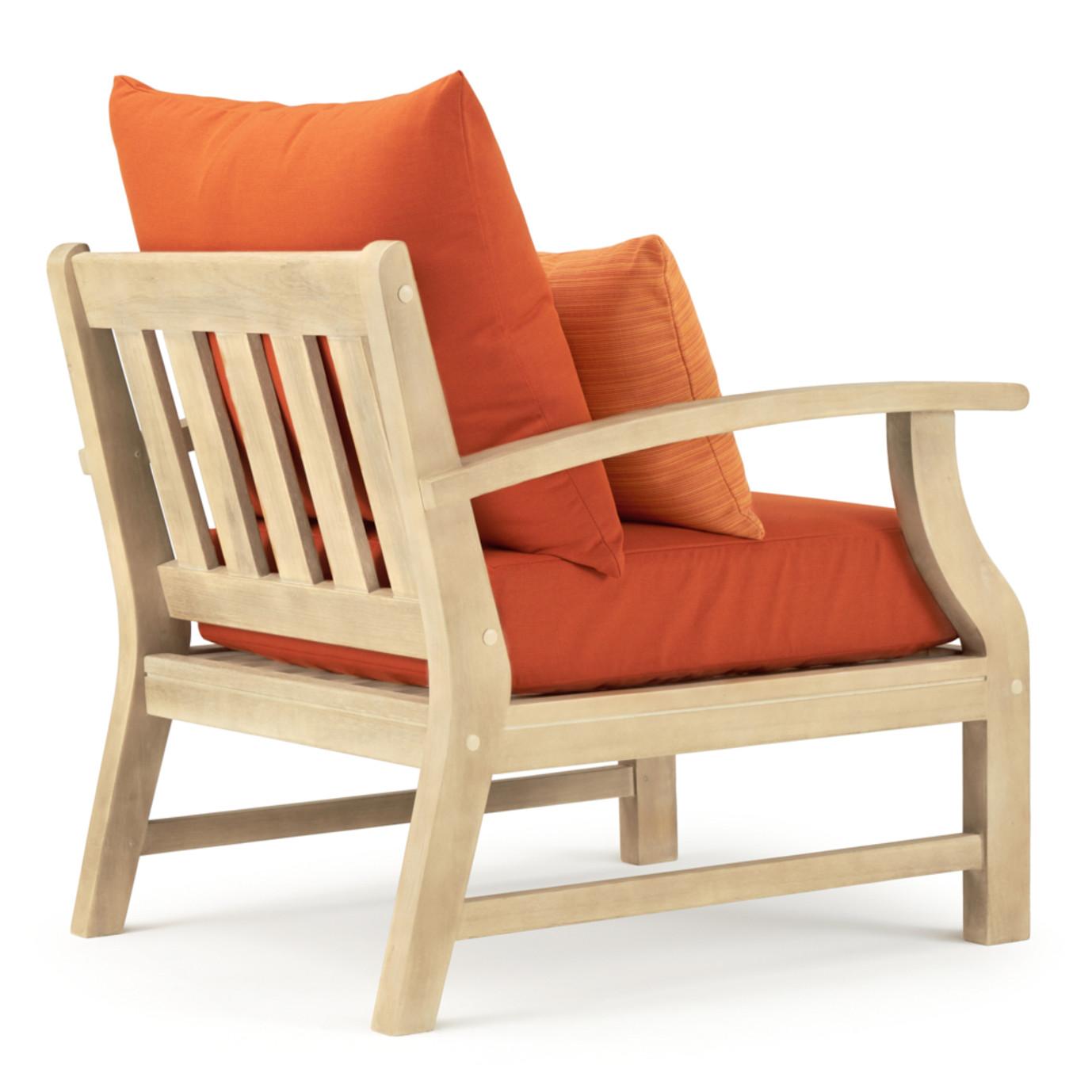 Kooper Club Chairs - Tikka Orange