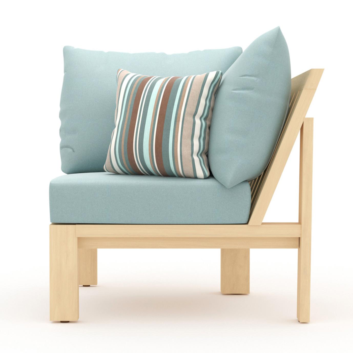 Benson Corner Chair - Bliss Blue