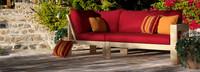 Benson™ Corner Chair - Charcoal Gray