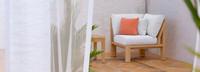 Benson™ Corner Chair - Cast Coral