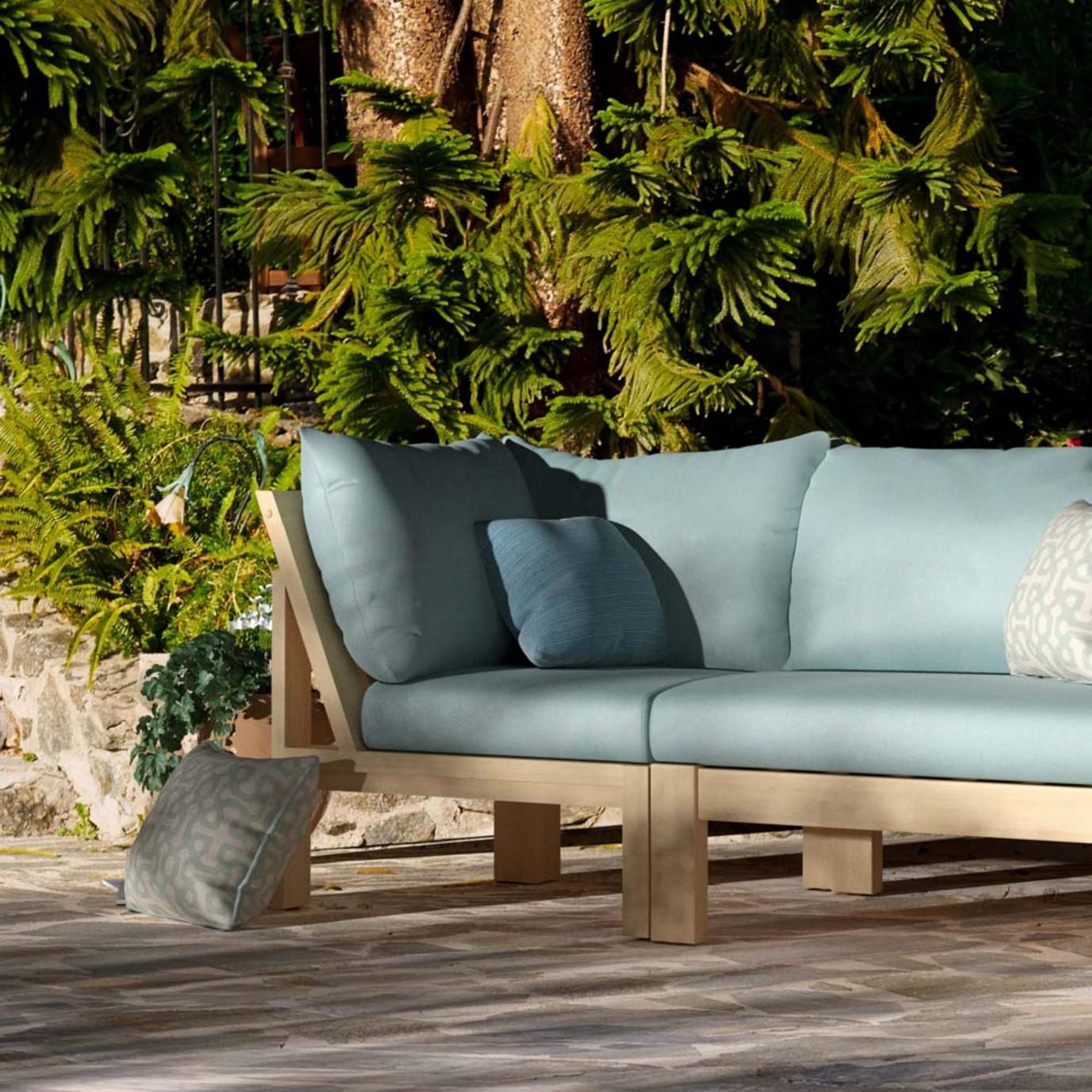 Benson Corner Chair - Spa Blue