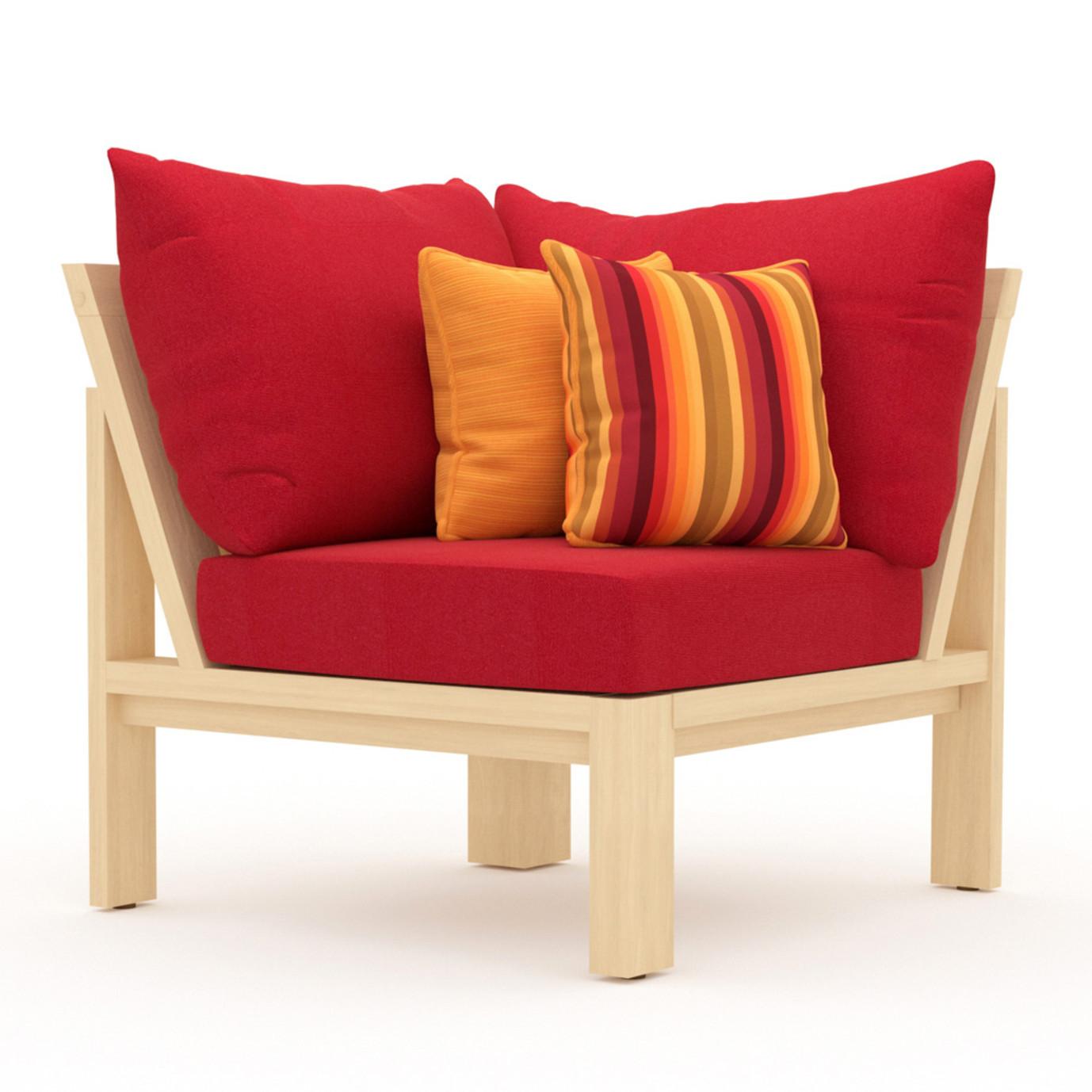 Benson™ Corner Chair - Sunset Red
