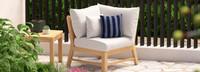 Kooper™ Corner Chair - Bliss Ink