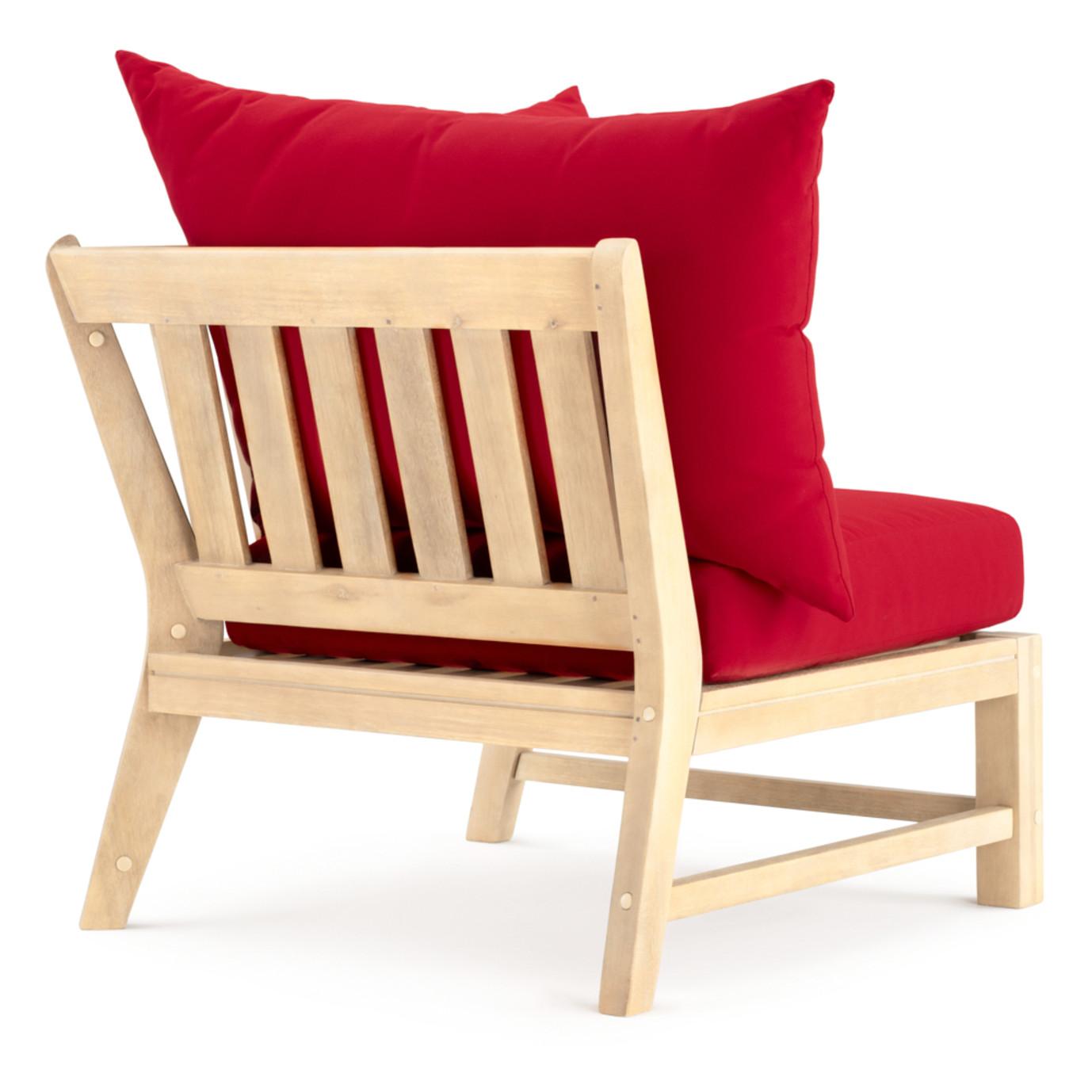 Kooper Corner Chair - Sunset Red