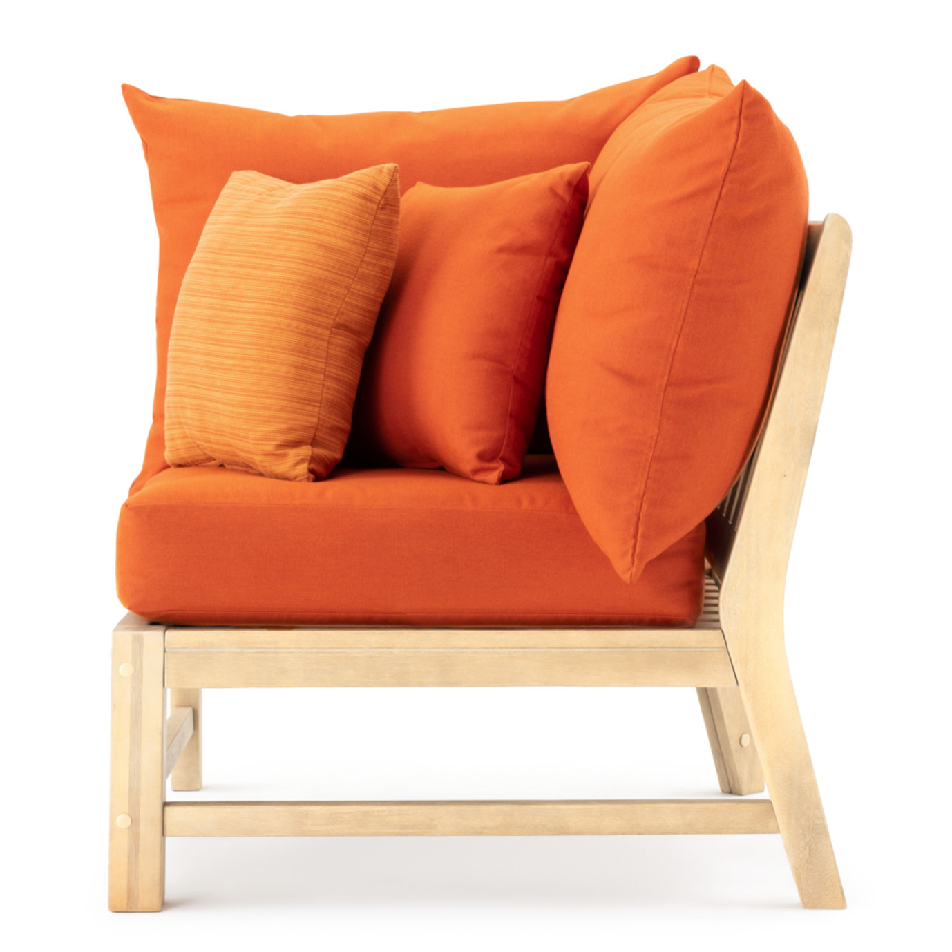 Kooper Corner Chair - Tikka Orange
