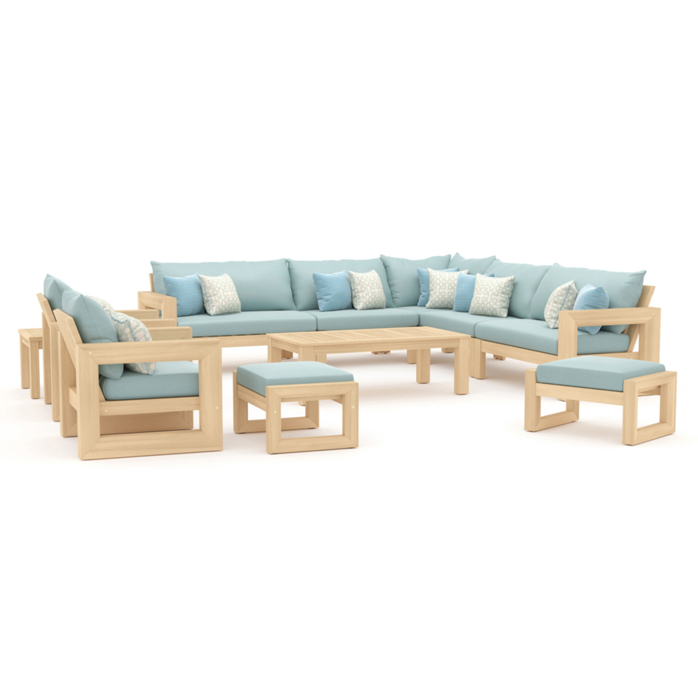 Benson 11 Piece Estate Collection - Spa Blue