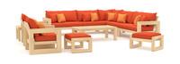Benson™ 11 Piece Estate Collection - Tikka Orange