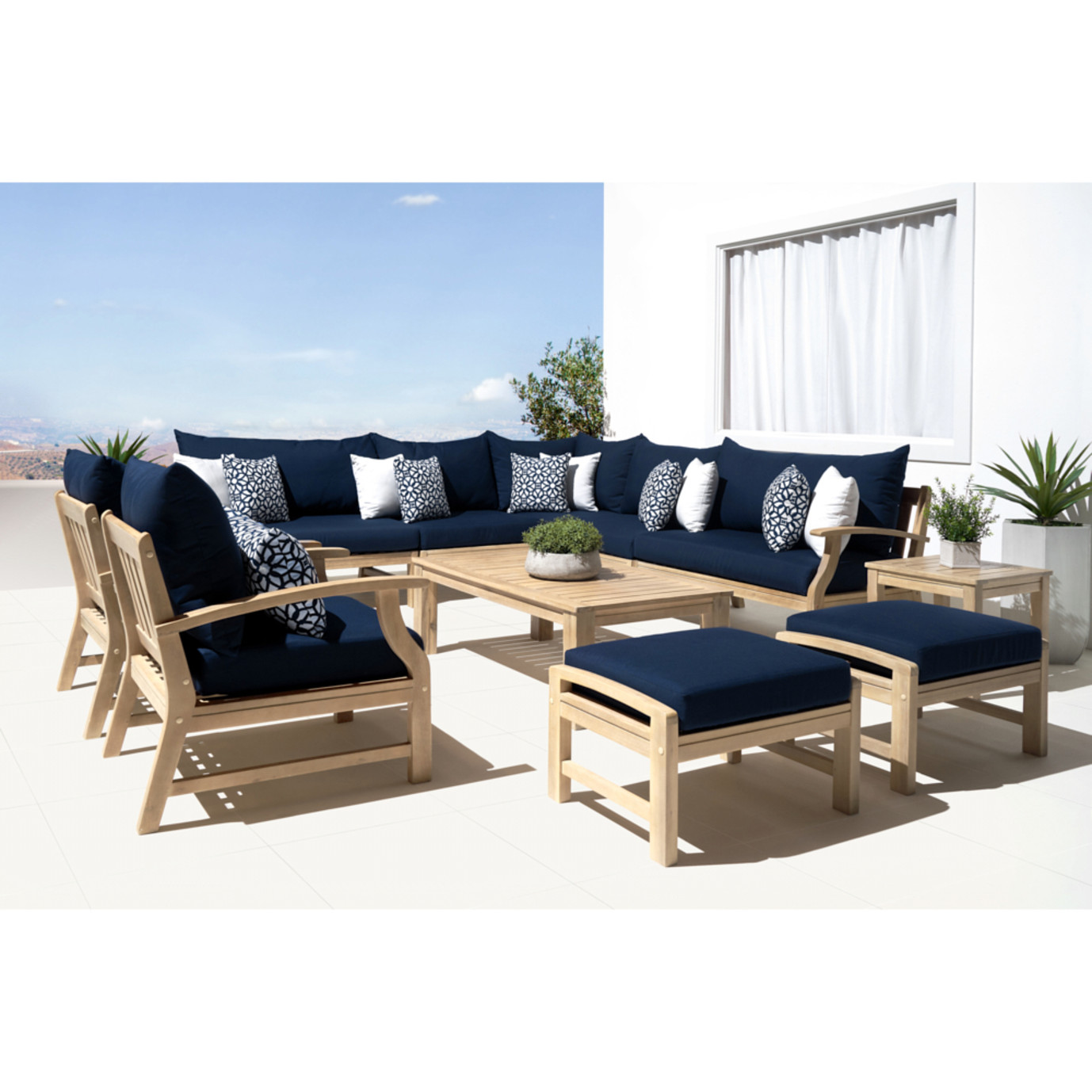 Kooper 11 Piece Estate Collection - Navy Blue
