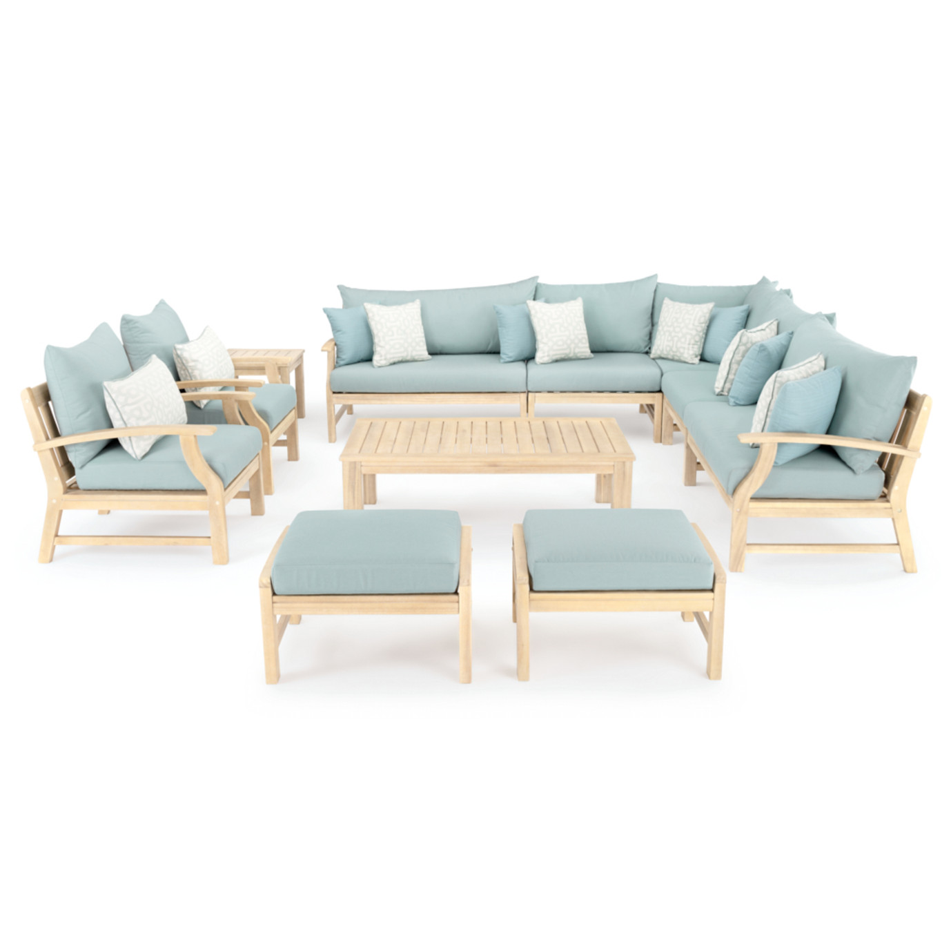 Kooper 11pc Estate Collection - Spa Blue