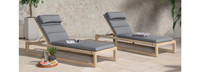 Benson™ Chaise Lounges - Bliss Blue