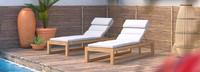 Benson™ Chaise Lounges - Bliss Linen