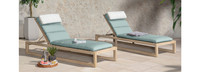 Benson™ Chaise Lounges - Navy Blue
