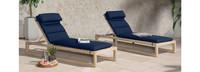 Benson™ Chaise Lounges - Tikka Orange