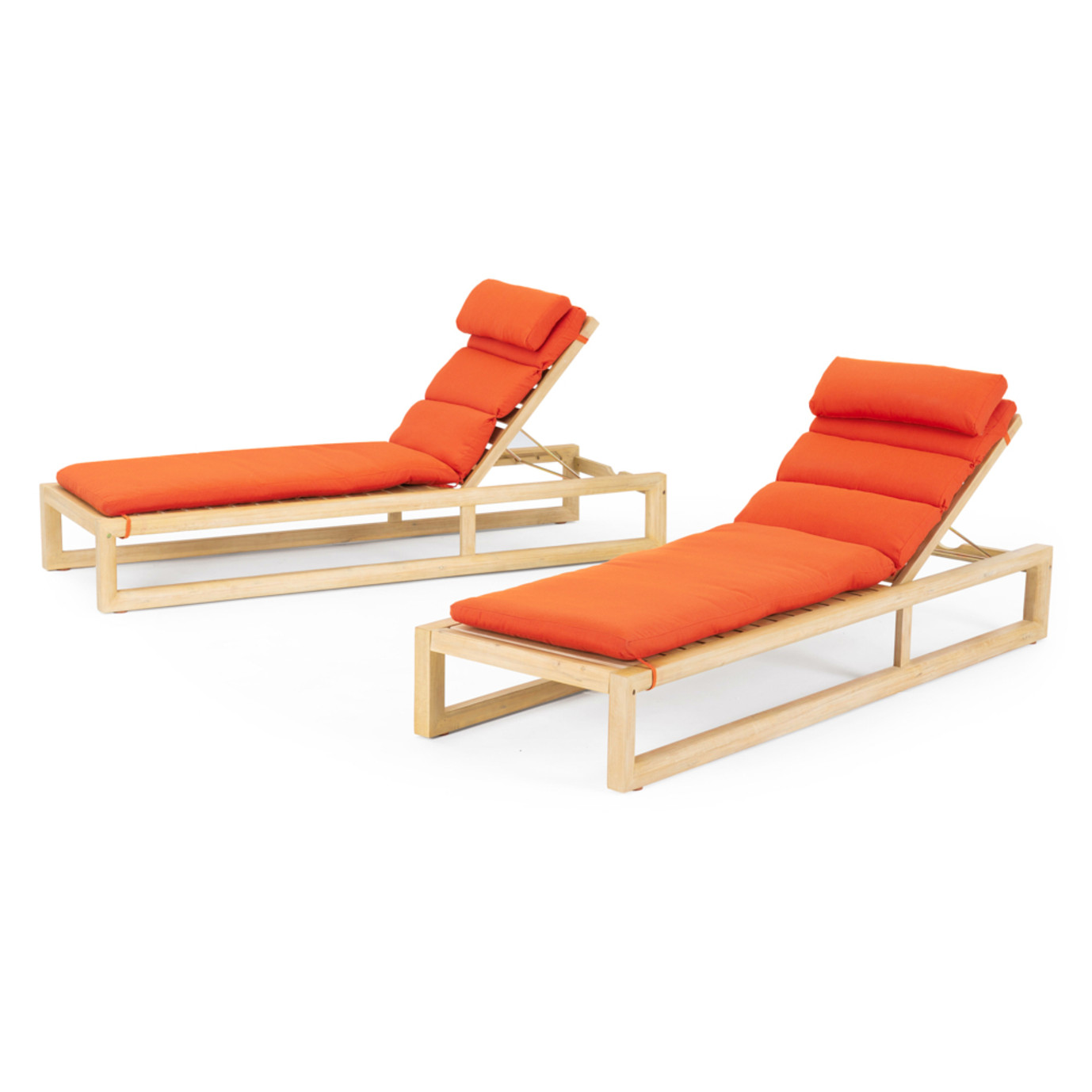 Benson™ Chaise Lounges - Tikka Orange