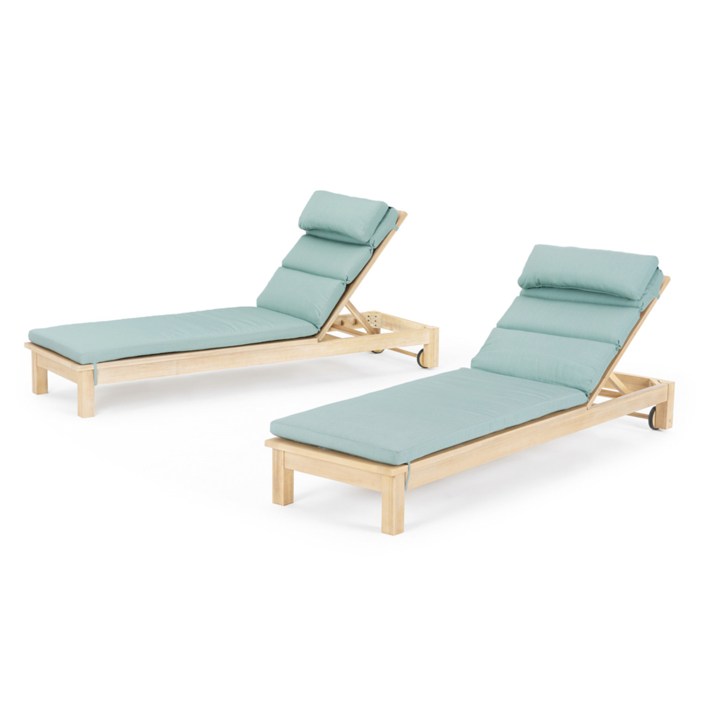 Kooper Chaise Lounges - Bliss Blue