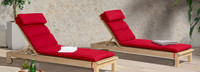 Kooper™ Chaise Lounges - Charcoal Gray