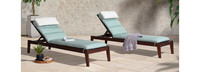 Vaughn™ Chaise Lounges - Bliss Blue
