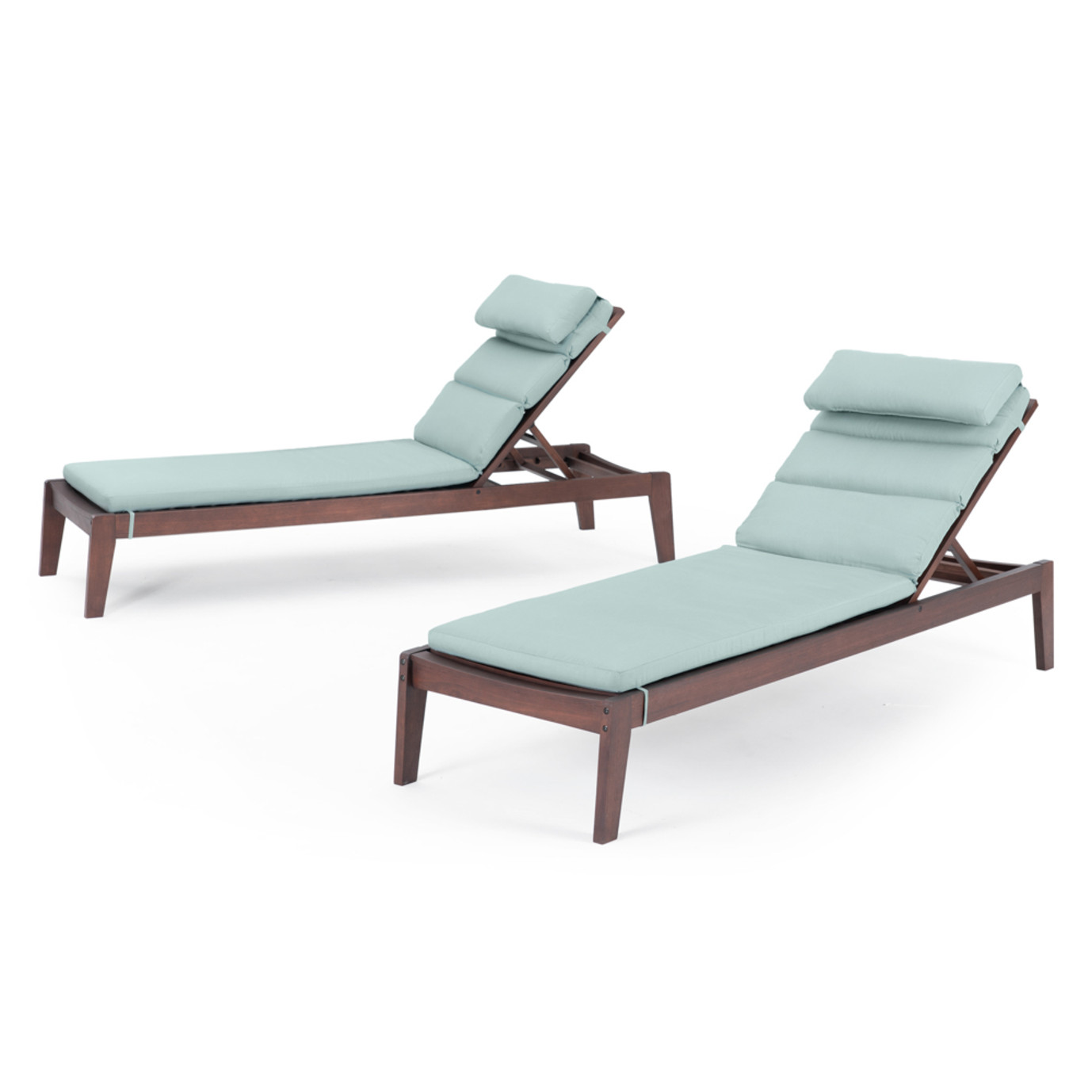 Vaughn Chaise Lounges - Bliss Blue