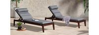 Vaughn™ Chaise Lounges - Spa Blue