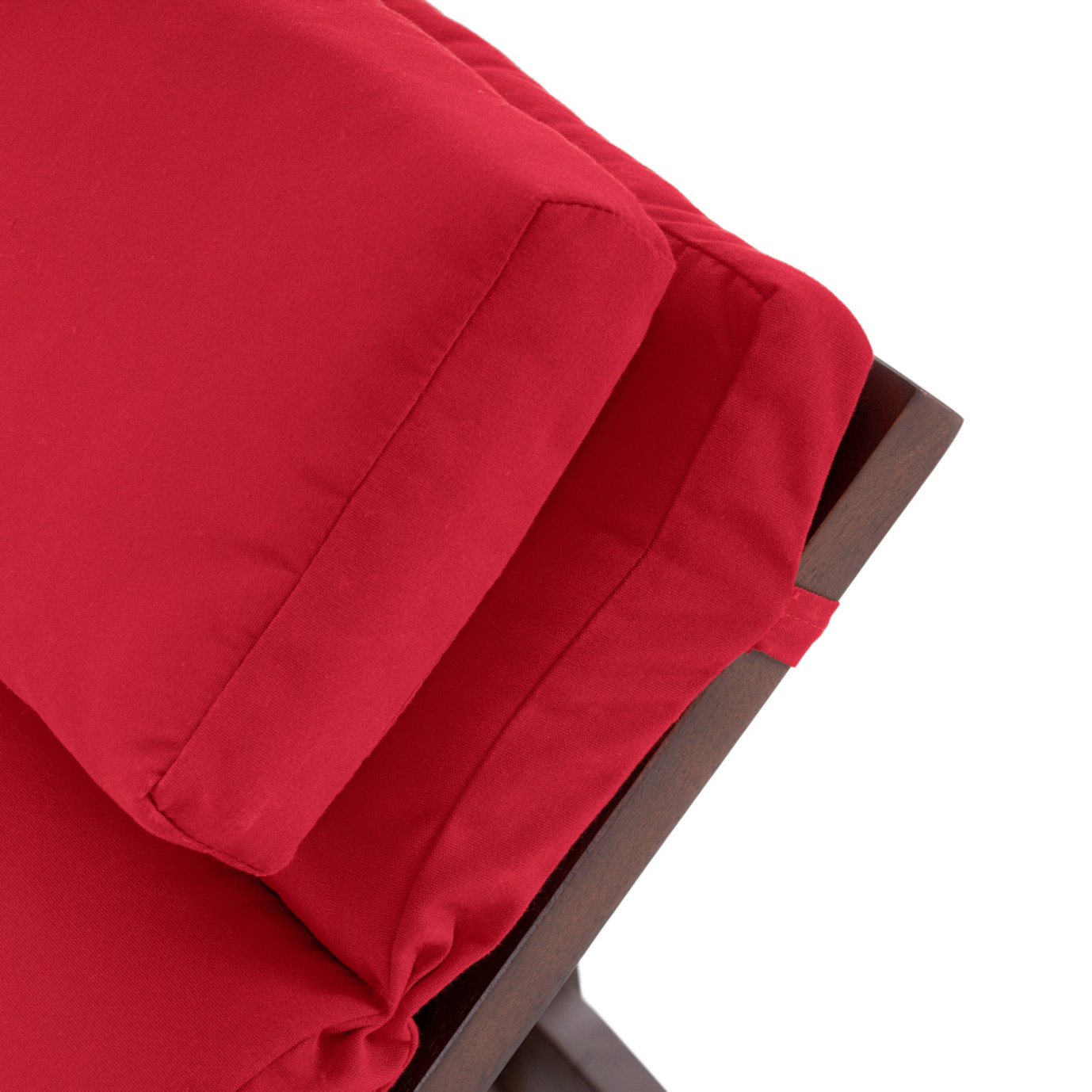 Vaughn Chaise Lounges - Sunset Red
