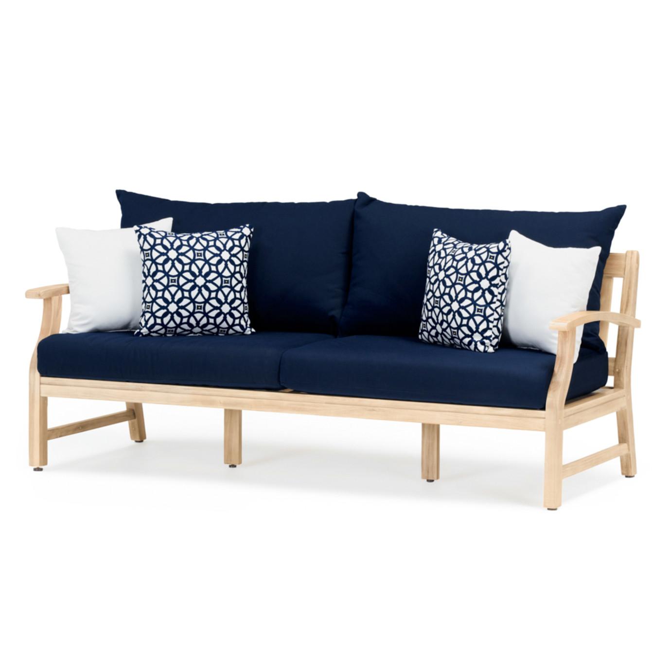 Kooper™ 76in Sofa - Navy Blue