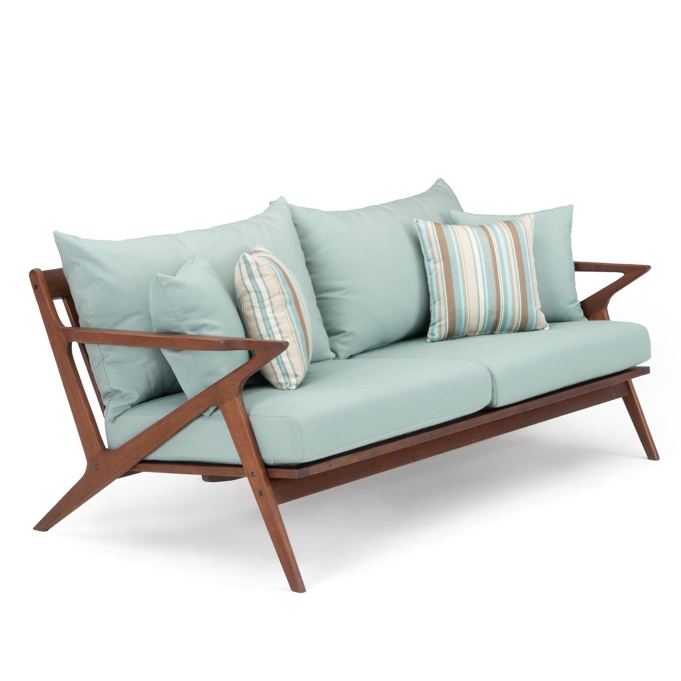 Vaughn 76in Sofa - Bliss Blue
