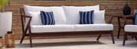 Vaughn™ 76in Sofa - Spa Blue