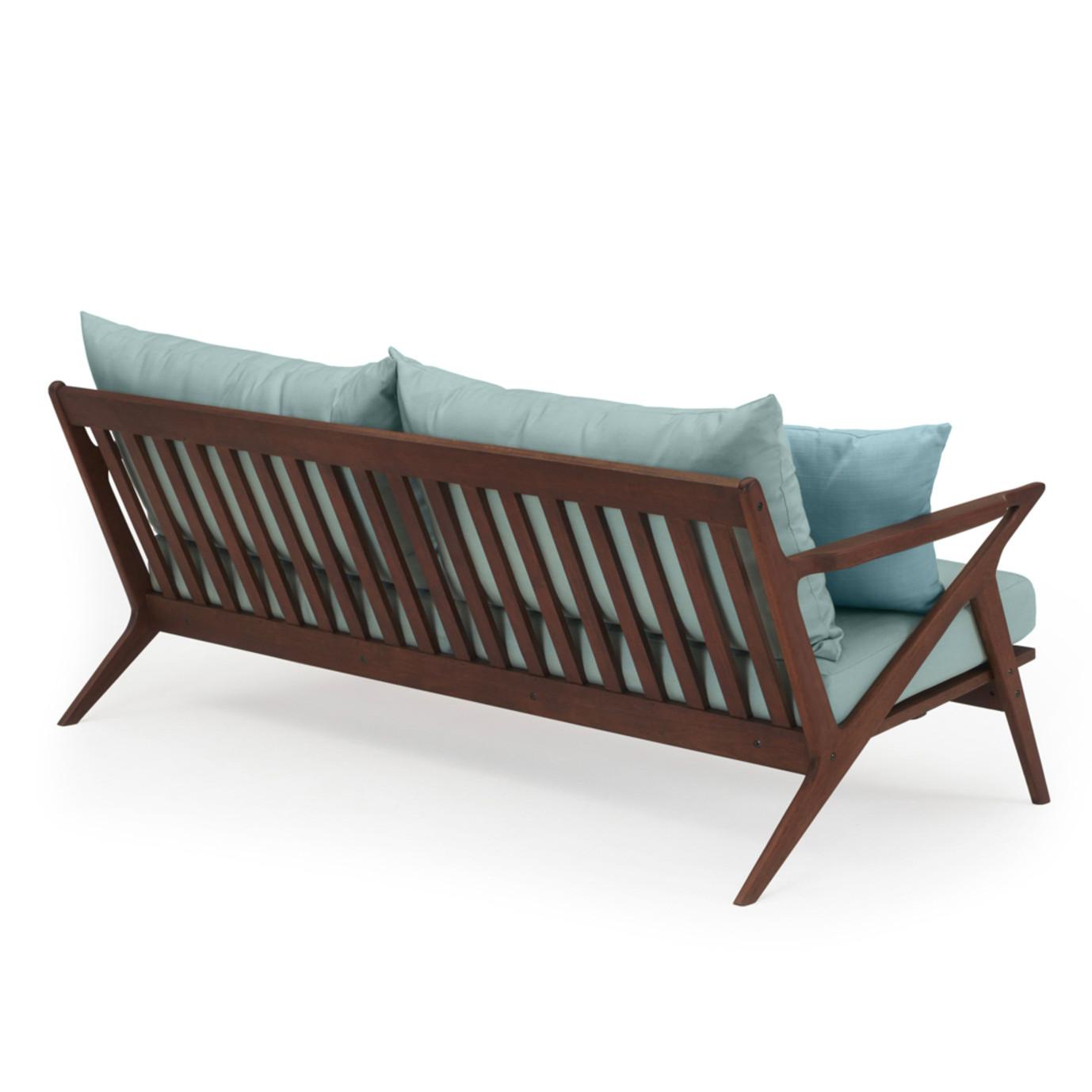 Vaughn 76in Sofa - Spa Blue